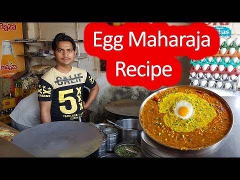 Egg Maharaja – अंडा महाराजा रेसिपी | Egg recipes 2018 | Omelette Recipes Indian | Indian Street Food