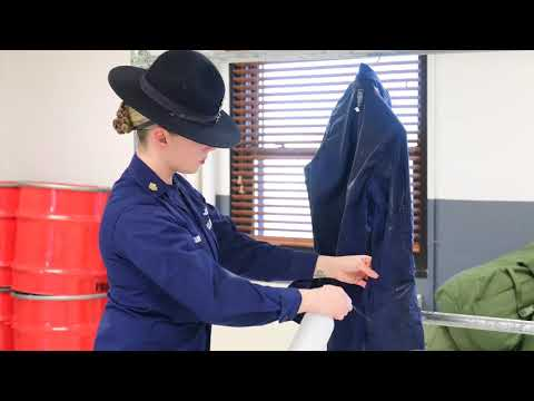 #CGHowTo How to Starch Uniforms