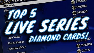 TOP 5 LIVE SERIES DIAMONDS IN MLB THE SHOW 17!