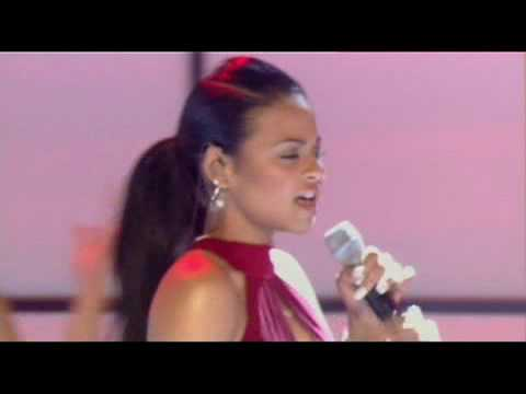 Christina Milian - When You Look At Me live at TOTP