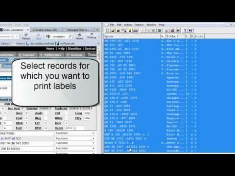 OCLC labels