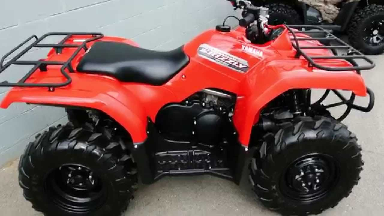 Brand New 2013 Yamaha Grizzly 350 4X4 Automatic ATV - YouTube