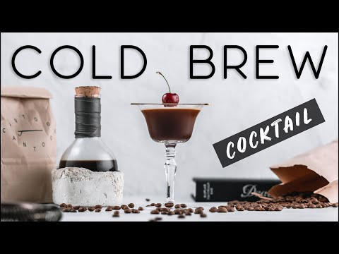 Cold Brew Coffee Cocktail Recipe - How To Make Easy Cold Brew Coffee At Home