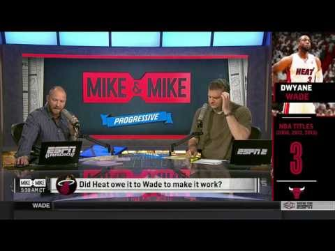 Pat Riley on Dwyane Wade leaving Miami Heat