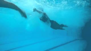 nadando en helios 14