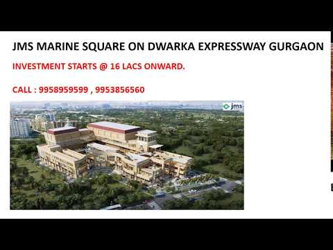 9958959599, jms marine square, jms commercial project sector 102 gurgaon