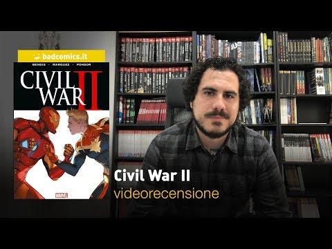 Panini, Marvel Omnibus - Civil War II, la videorecensione
