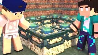 Minecraft: PARAÍSO - #158 ACHAMOS O PORTAL!