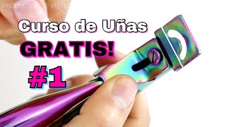 CLASE #1 Principiantes Uñas Acrílicas/Tip Natural