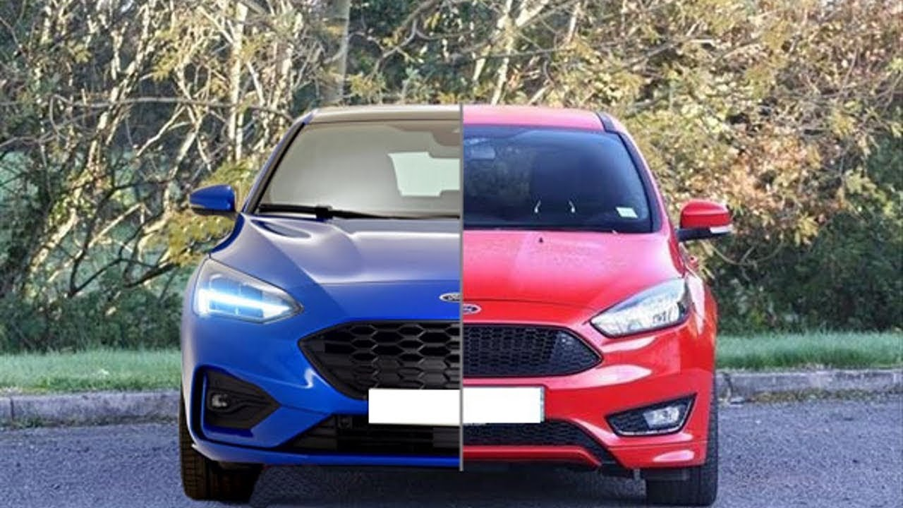 New 2019 Ford Focus St Line Vs Old 2017 Ford Focus St Line