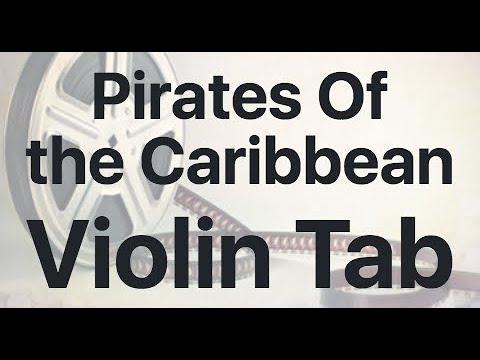 Learn Pirates Of The Caribbean On Violin - How To Play Tutorial