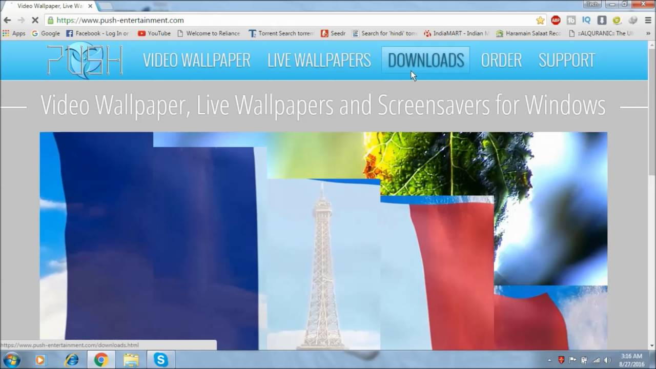 How To Get Live Wallpaper For Windows 788110 Hindi 2016