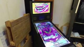 Fullsize virtual pinball machine running pinball x front end