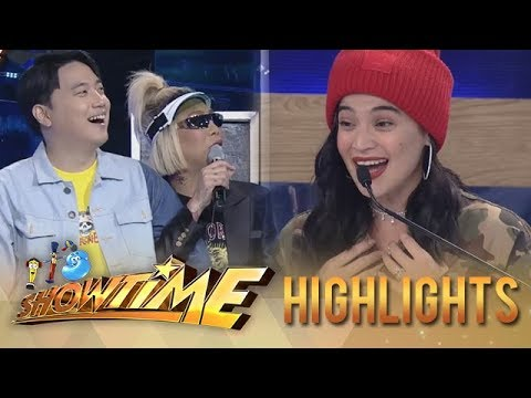It's Showtime HypeBest: Anne Curtis wears an outfit from K-Pop star G-Dragon and she didn't know it