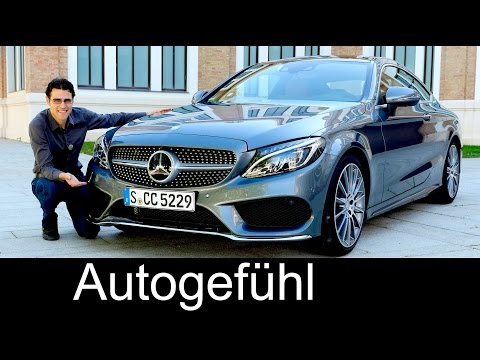 New Mercedes C-Class Coupé C400 & C63S AMG C-Klasse Documentary FULL REVIEW test driven - Autogefühl