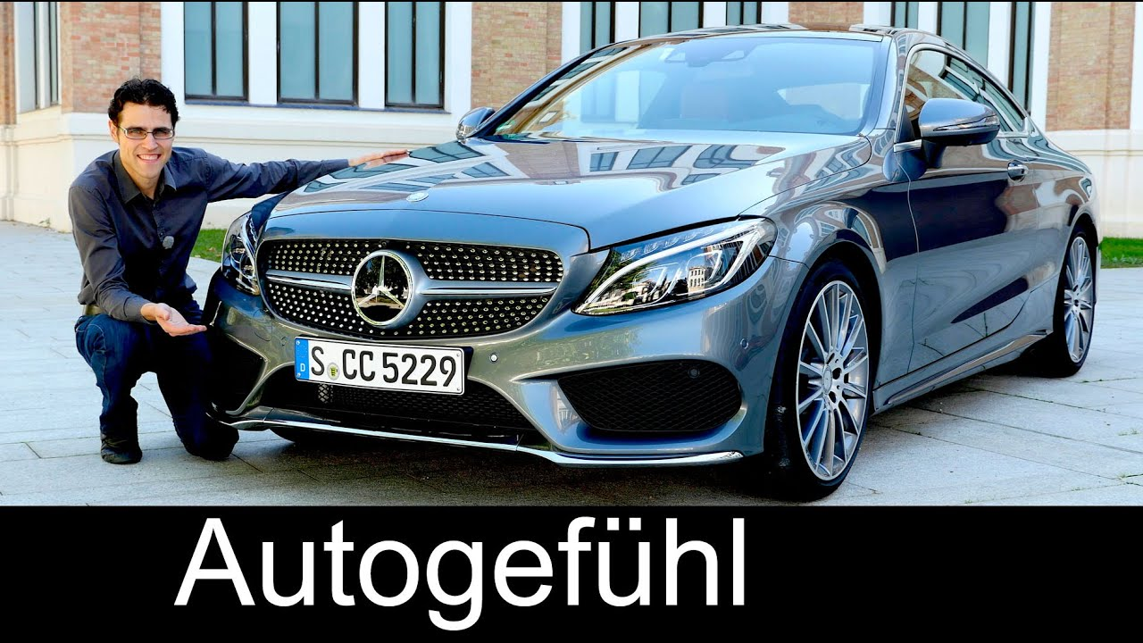 new mercedes c class coup c400 c63s amg c klasse documentary full review test driven. Black Bedroom Furniture Sets. Home Design Ideas