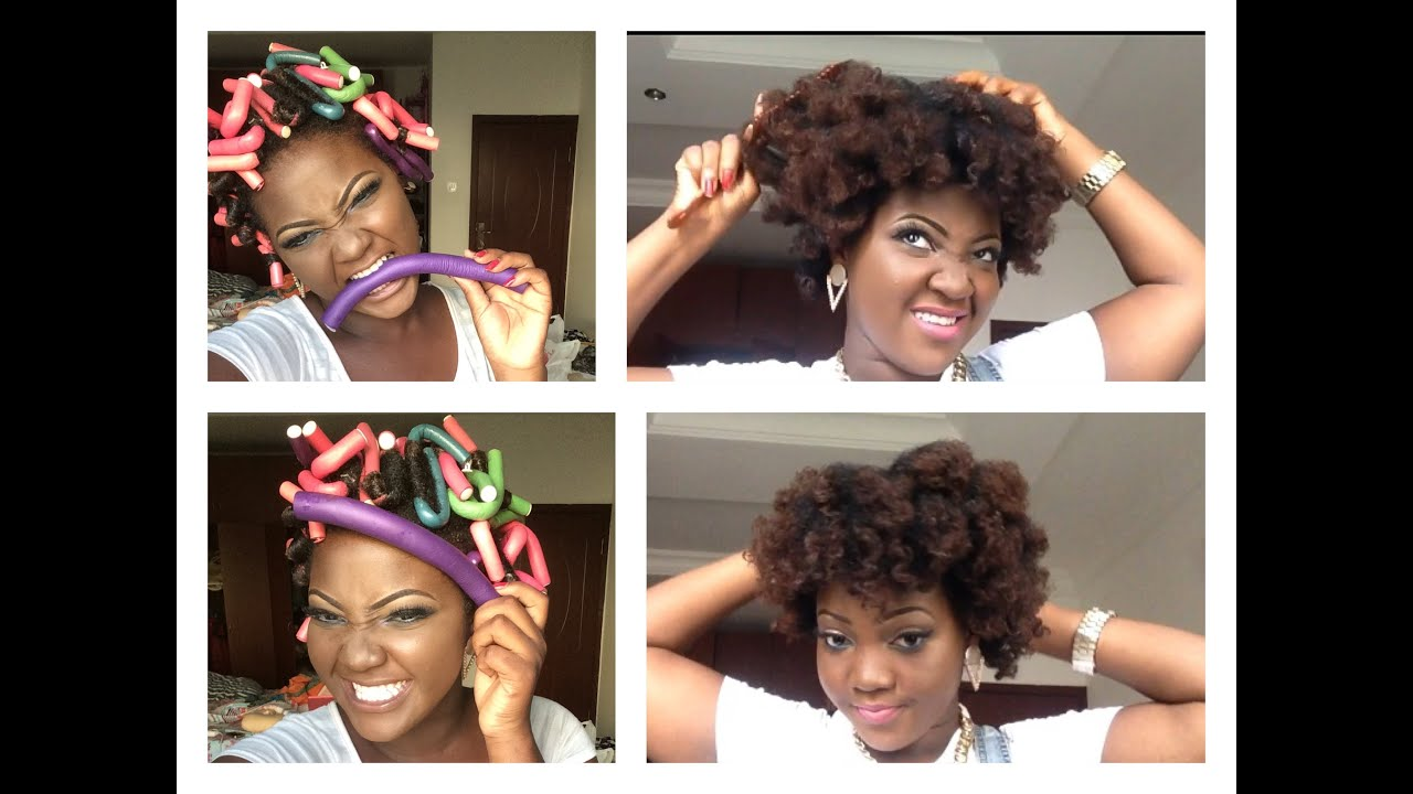 How I Use Flexi Rods Bendy Rollers On My Natural Hair