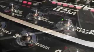 Zoom G7.1ut multi effects demo with high def recording