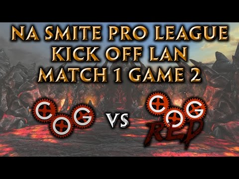 NA Pro League Kick-Off LAN Match 1 Game 2 - Cognitive Gaming vs. Cognitive Red