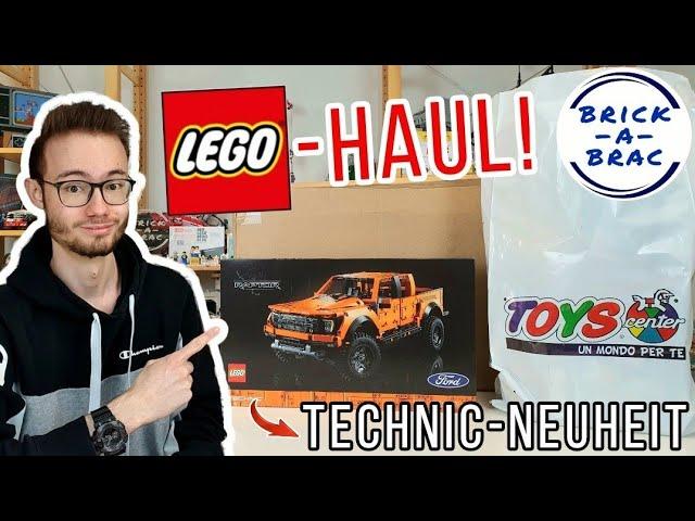 LEGO®-Haul: TECHNIC-Neuheit, Star Wars EOL-Sets & Vidiyo-Schnäppchen!