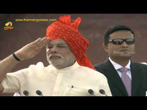 PM Narendra Modi hoisting Indian National flag - Exclusive | 68th Independence Day