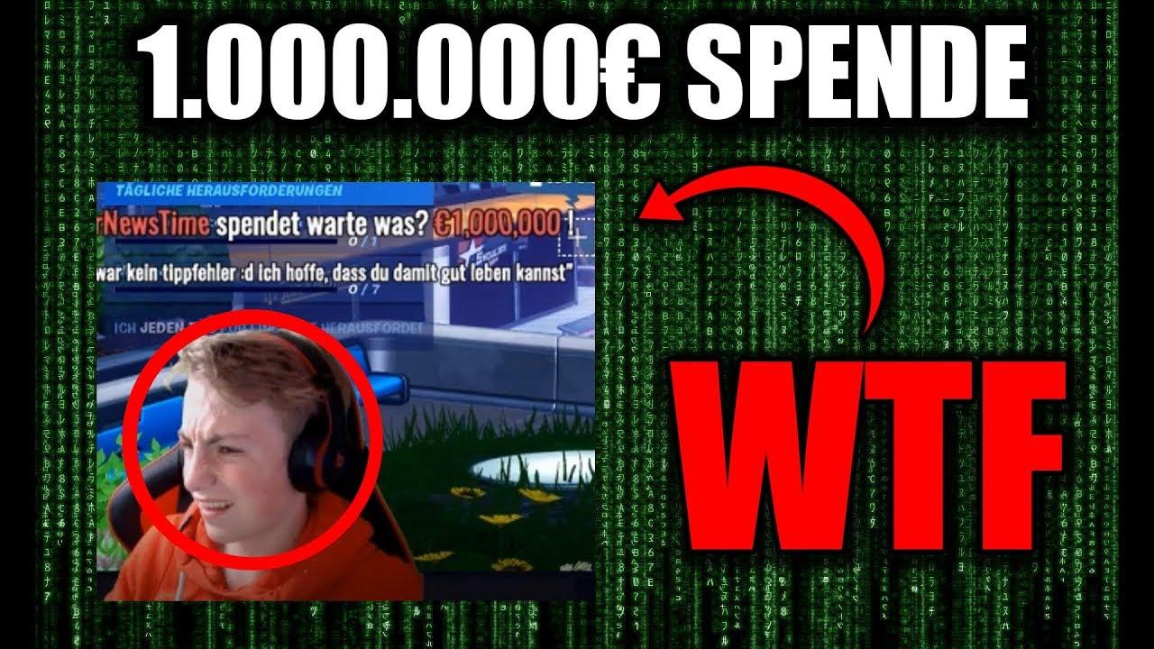 Download ich spende 1.000.000€ durch einen hack als herrnewstime... streamer gehackt!