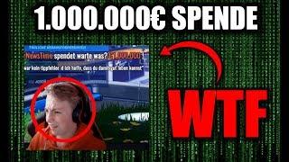 ich spende 1.000.000€ durch ei…