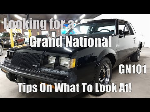 Buick Grand National | What To Look For When Purchasing | Buyers Guide