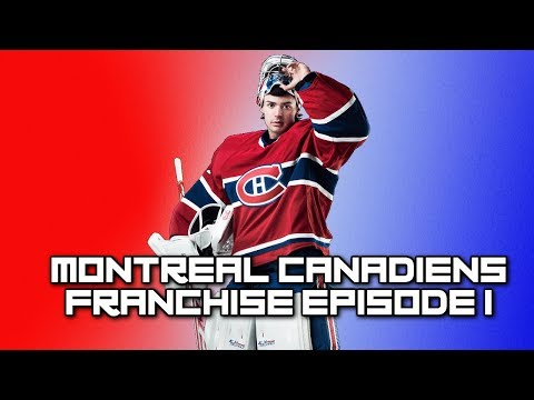 """NHL 19 Franchise Mode - Montreal Canadiens Ep. 1 - """"BEGINNING OF THE ROAD TO A DYNASTY"""""""