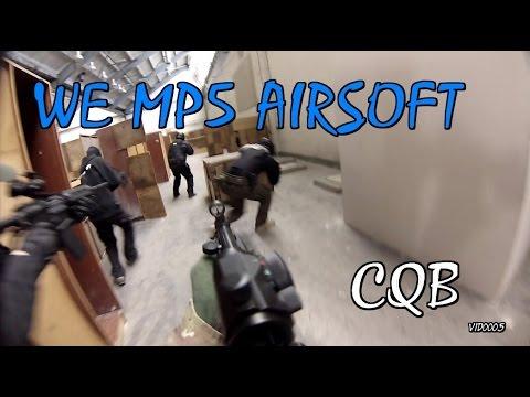 WE MP5 GBB CQB Airsoft Gameplay |vid0005