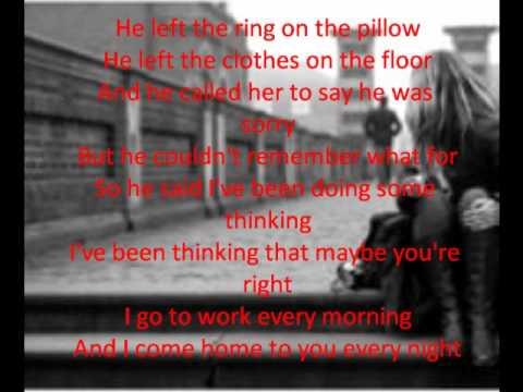 Patty Loveless ~ You Don't Even Know Who I Am (LYRICS)