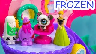 Disney Frozen Princess Anna Beauty Salon Job Shopkins Playset Squinkies Cookieswirlc