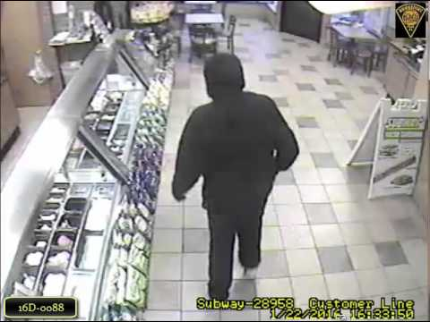 Subway Armed Robbery (Bridgeport, CT Case 16D-0088)