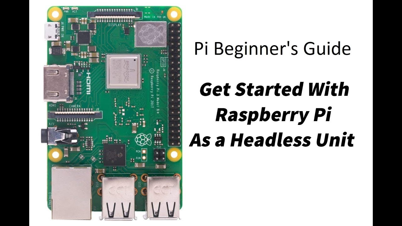 Pi Guide - A Beginner's Guide to Get Started With Raspberry Pi as a  Headless Unit