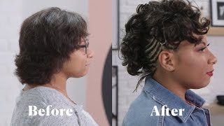 Jade Kendle Helps 1 Girl Get a Hair Transformation After an Emotional Breakup l Tressed Out