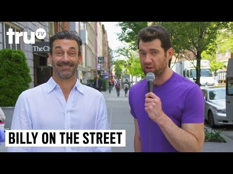 Billy on the Street  Threesome with Jon Hamm