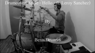 Adele - Hello - ft. Leroy Sanchez - Drumcover
