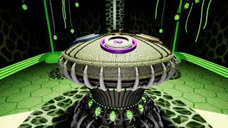 Project level design and scripting - Alien spaceship
