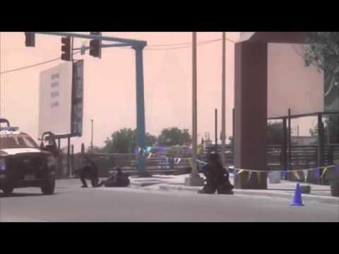 federal police vs drug cartel members