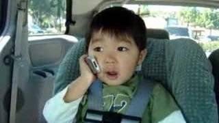 跟爸爸講電話, 3y2m