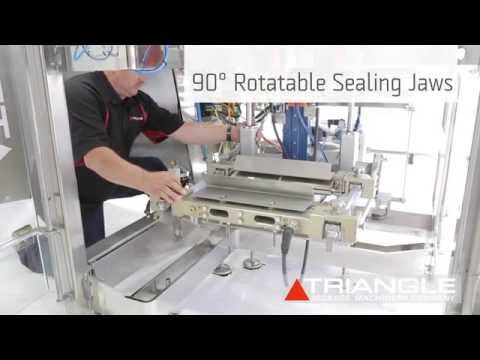 Triangle XYT15-RJ VFFS Bagger with Rotatable Sealing Jaws