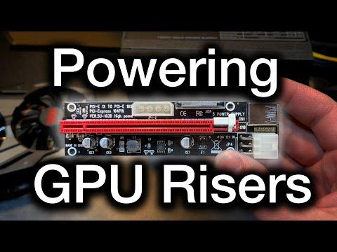Powering GPU Mining Risers Safely