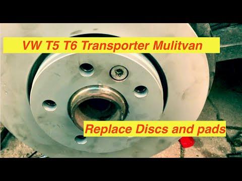 VW T5 T6 Transporter, Mulitivan, Caravelle, Bus Rear Brake Discs & Pads