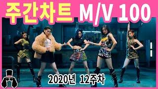 [주간차트 2020년 12주차] 금주의 KPOP 아이돌 뮤직비디오 순위 100 - 2020년 3월 22일 |…