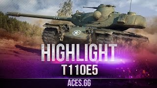 Не взял фугас и ты погас! Т110Е5 в рандоме World of Tanks