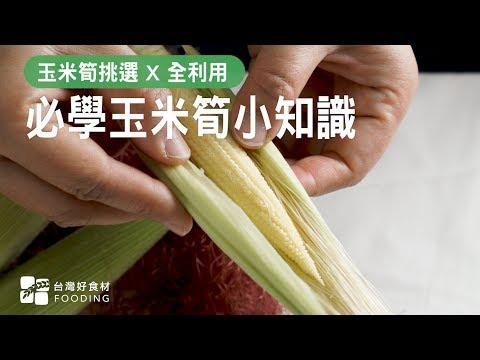 【食材小知識】必學玉米筍小知識!玉米筍挑選 X 全利用