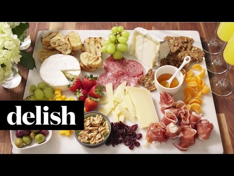 How To Build The Ultimate Cheese Platter | Delish