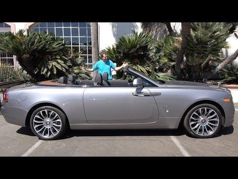 Rolls Royce Dawn - это ультра-люксовый кабриолет за $400 000