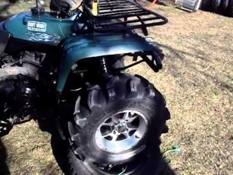 Yamaha Big Bear Mud Runner 27 Quot Executioners 2 Quot Lift