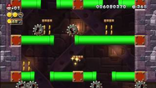 Rock-Candy Mines - Grinding-Stone Tower [New Super Mario Bros Wii U]